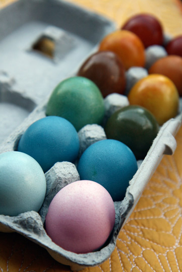 Naturally Dyed Easter Eggs--the Kitchn